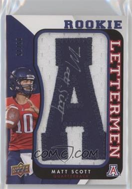 2013 Upper Deck - Rookie Lettermen Autographs #RL-MS - Matt Scott /75