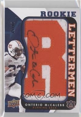 2013 Upper Deck - Rookie Lettermen Autographs #RL-OM - Onterio McCalebb /50