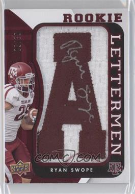 2013 Upper Deck - Rookie Lettermen Autographs #RL-RS - Ryan Swope /50