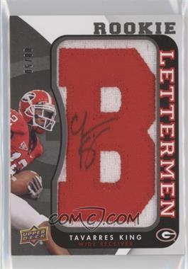 2013 Upper Deck - Rookie Lettermen Autographs #RL-TK - Tavarres King /50