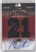 Marcus Lattimore /21
