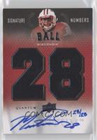Montee Ball [Noted] #/28