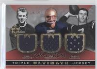 Joe Theismann, Paul Hornung, Daryle Lamonica /15