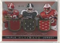 Eddie Lacy, Montee Ball, Le'Veon Bell #/15