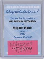 Stephen Morris /25 [REDEMPTIONBeingRedeemed]