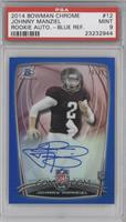 Johnny Manziel /99 [PSA 9 MINT]