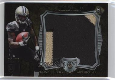 2014 Bowman Sterling - Jumbo Rookie Patch - Gold Refractor #BSJRP-BC - Brandin Cooks /75