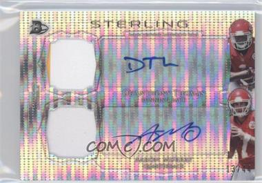 2014 Bowman Sterling - Pulsar Refractor Dual Autograph Dual Patch #BSPDAR-TM - De'Anthony Thomas , Aaron Murray  /44