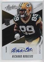 Rookies Autographs - Richard Rodgers #/199