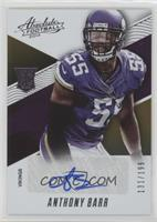 Rookies Autographs - Anthony Barr /199