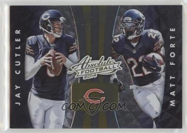 premium selection 65d85 a7ad4 2014 Panini Absolute - Quads #21 - Jay Cutler, Matt Forte ...