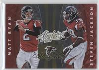Roddy White, Julio Jones, Matt Ryan, Steven Jackson