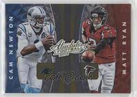 Cam Newton, Matt Ryan, Drew Brees, Josh McCown