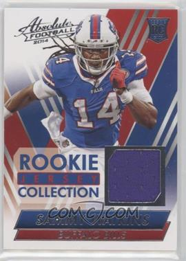 2014 Panini Absolute - Rookie Jersey - Collection #SW - Sammy Watkins