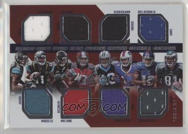 2014 Panini Absolute - Tools of the Trade 8 Player #TT8-WR8 - Allen Hurns, Marqise Lee, Mike Evans, Odell Beckham Jr., Allen Robinson, Jordan Matthews, Kelvin Benjamin, Sammy Watkins /249
