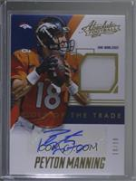 Peyton Manning [Noted] #/18