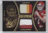 Aaron Murray, Alex Smith #/49