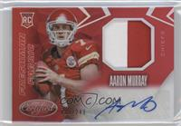 Freshman Fabric Mirror Signatures - Aaron Murray #/249