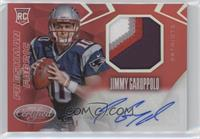 Freshman Fabric Mirror Signatures - Jimmy Garoppolo #/49