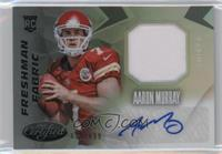 Freshman Fabric Mirror Signatures - Aaron Murray #/699