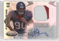 Freshman Fabric Mirror Signatures - Jadeveon Clowney #/199