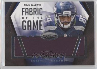 2014 Panini Certified - Fabric of the Game #F-DB - Doug Baldwin /99