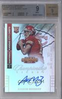 Aaron Murray (Looking to left side of card) [BGS 9 MINT] #/49