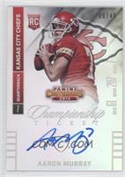 Aaron Murray (Looking to left side of card) /49