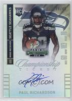 Paul Richardson (ball in right hand) #/49
