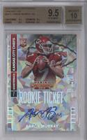 Aaron Murray (looking to right side of card) /22 [BGS9.5GEMMI…