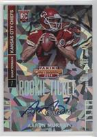 Aaron Murray (looking to right side of card) #/22