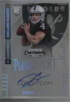 Derek Carr (preparing to throw) /99