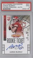 Aaron Murray (Looking to left side of card) [PSA 9 MINT]
