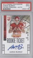 Aaron Murray (looking forward) [PSA 9 MINT]