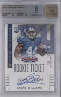 Andre Williams (ball in left hand) [BGS 9 MINT]