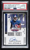 Odell Beckham Jr. (ball in left hand) [PSA 10 GEM MT]
