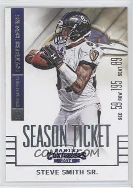 2014 Panini Contenders - [Base] #78 - Steve Smith Sr.