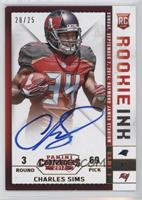 Charles Sims [Noted] #/25