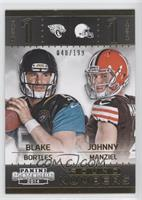 Blake Bortles, Johnny Manziel #/199