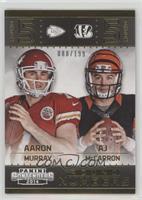 Aaron Murray, AJ McCarron #/199