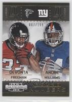 Andre Williams, Devonta Freeman /199