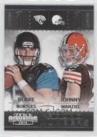 Blake Bortles, Johnny Manziel
