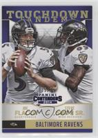 Joe Flacco, Steve Smith Sr. #/99