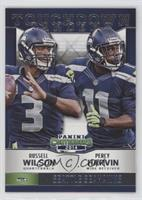 Percy Harvin, Russell Wilson