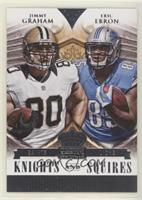 Jimmy Graham, Eric Ebron