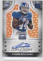 Andre Williams #/44