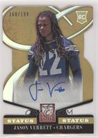 Rookie Signatures - Jason Verrett #/199