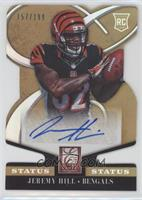 Rookie Signatures - Jeremy Hill #/199