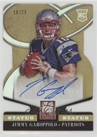 Rookie Signatures - Jimmy Garoppolo #/25