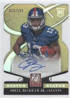 Rookie Signatures - Odell Beckham Jr. #/199